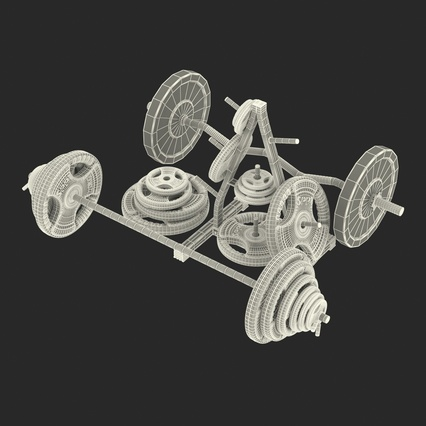 Barbells Collection 2. Render 55