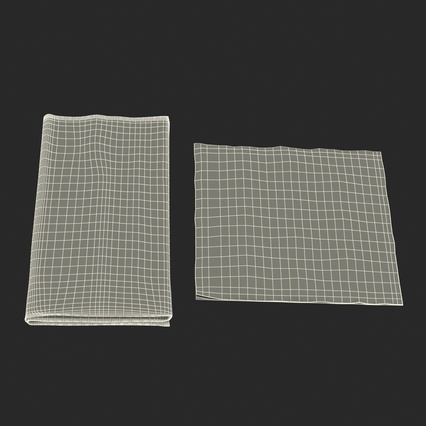 Napkins Collection. Render 36