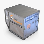 Airport Luggage Trolley Baggage Trailer with Container. Preview 14
