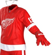 Hockey Equipment Detroit Red Wings. Preview 28