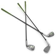 9 Iron Golf Club Generic. Preview 2