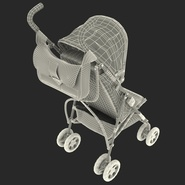 Baby Stroller Blue. Preview 44