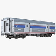 Railroad Amtrak Baggage Car