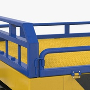 Airport Transport Trailer Low Bed Platform Rigged. Preview 10