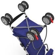 Baby Stroller Blue. Preview 35