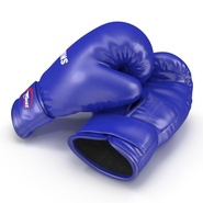Boxing Gloves Twins Blue. Preview 14