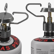 Gas Cylinder with Camping Stove. Preview 12