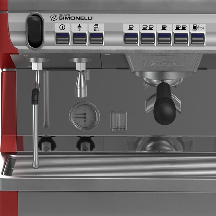 Espresso Machine Simonelli. Render 17