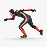 Speed Skater Generic 2 Pose 2