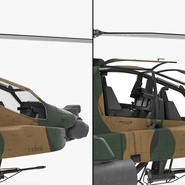 AH-64D Apache Longbow Japan Rigged. Preview 18