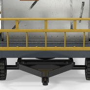Airport Luggage Trolley Baggage Trailer with Container. Preview 19
