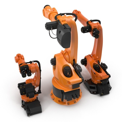 Kuka Robots Collection 5. Render 16