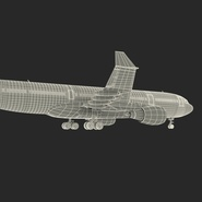 Jet Airliner Airbus A330-200 Northwest Airlines Rigged. Preview 66