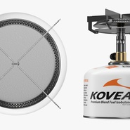 Single Burner Camping Gas Stove Kovea. Preview 9