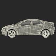 Generic Hybrid Car Rigged. Preview 83