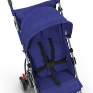 Baby Stroller Blue. Preview 20