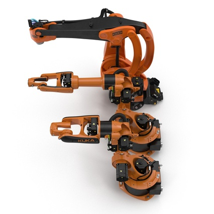 Kuka Robots Collection 5. Render 10