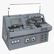 Military Boat Control Panel