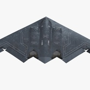 Stealth Bomber B-2 Spirit Rigged. Preview 2