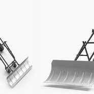 Rolling Snow Shovel. Preview 5