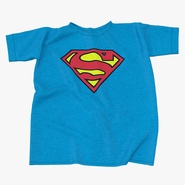 Superman Logo Flat T-Shirt