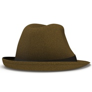 Fedora Hat Brown. Preview 15