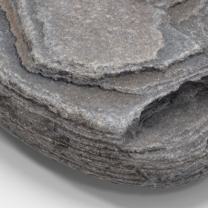 Small Rock. Render 10