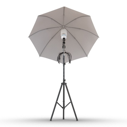 Photo Studio Lamps Collection. Render 44