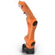 Kuka Robot KR 10 R1100 Rigged. Preview 18