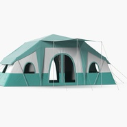 Deluxe Cabin Tent. Preview 3