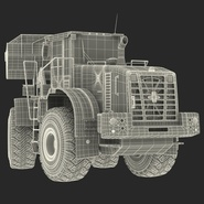 Generic Front End Loader Rigged. Preview 82