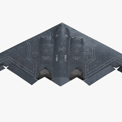 Stealth Bomber B-2 Spirit Rigged. Render 2