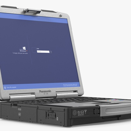 Panasonic Toughbook. Render 5