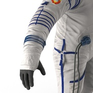 Russian Space Suit Sokol KV2 Rigged. Preview 46