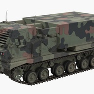 US Multiple Rocket Launcher M270 MLRS Camo. Preview 3