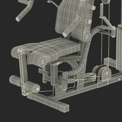 Weight Machine 2. Render 51