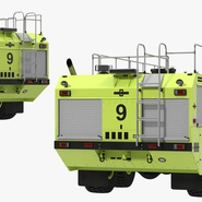 Oshkosh Striker 4500 Aircraft Rescue and Firefighting Vehicle Rigged. Preview 16