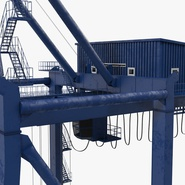 Container Crane Blue. Preview 26