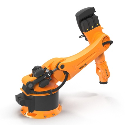 Kuka Robots Collection 5. Render 34
