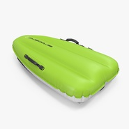 Inflatable Sled Green