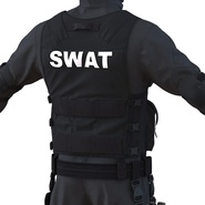 SWAT Man Mediterranean Rigged for Cinema 4D. Preview 27
