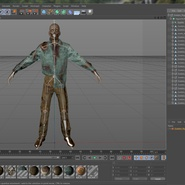 Zombie Rigged for Cinema 4D. Preview 53