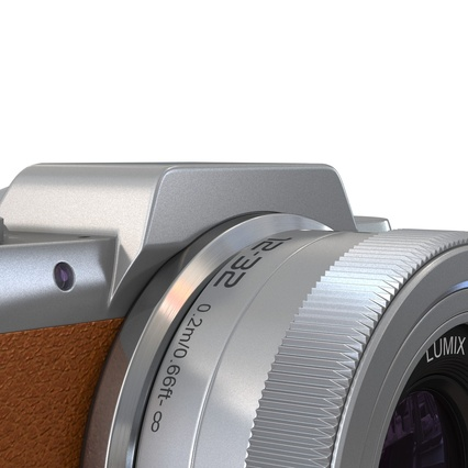 Panasonic DMC GF7 Brown. Render 38