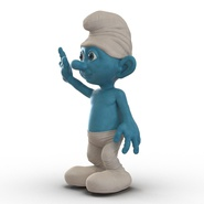 Smurf Rigged for Maya. Preview 18