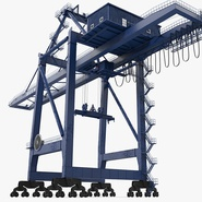 Container Crane Blue. Preview 2