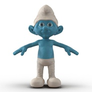 Smurf Rigged for Maya. Preview 12