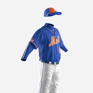 Baseball Player Outfit Mets 2. Preview 16