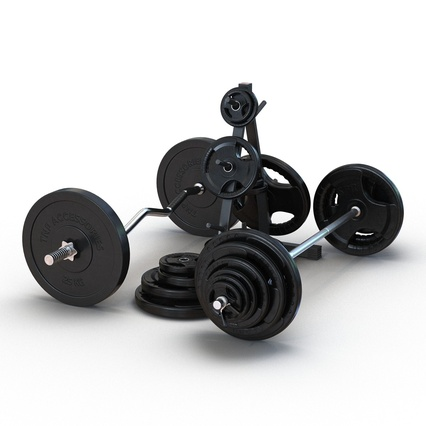 Barbells Collection 2. Render 6