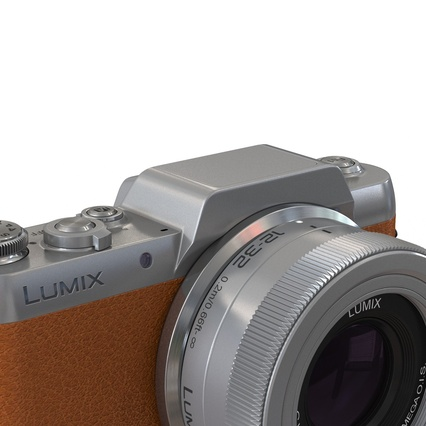 Panasonic DMC GF7 Brown. Render 13