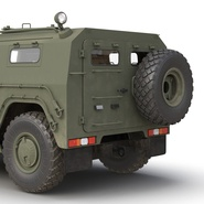 Russian Mobility Vehicle GAZ Tigr M Rigged. Preview 37